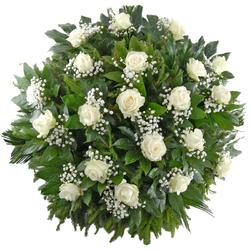 Wieniec pogrzebowy Złączeni w modlitwie Telekwiaciarnia
